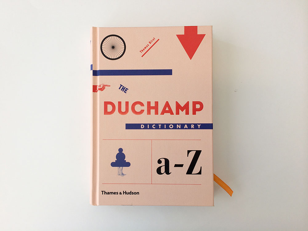The Duchamp Dictionary (2014) av Thomas Girst. Foto: Magifabrikk